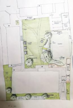 Waldorfschule-Gartenplan